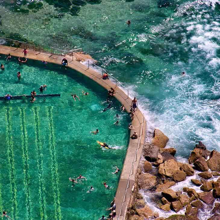Bronte Ocean Pool, Bronte Beach | Aussie Ocean Pools Bucket List | Nads for Men Hair Removal