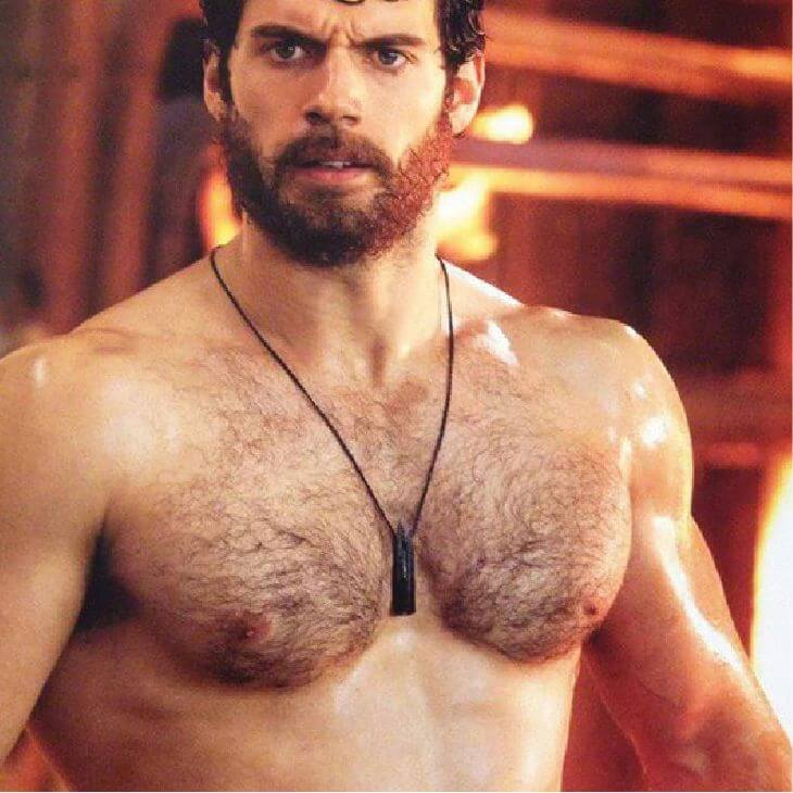 Henry Cavill | Hairy Male Celebrities | Nads for Men Hair Removal
