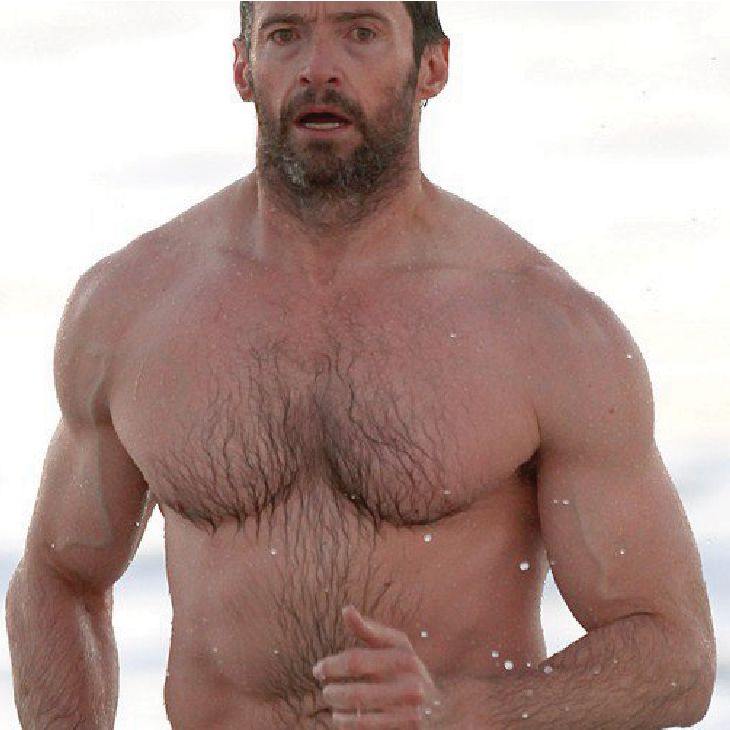 Hugh Jackman | Hairy Male Celebrities | Nads for Men Hair Removal