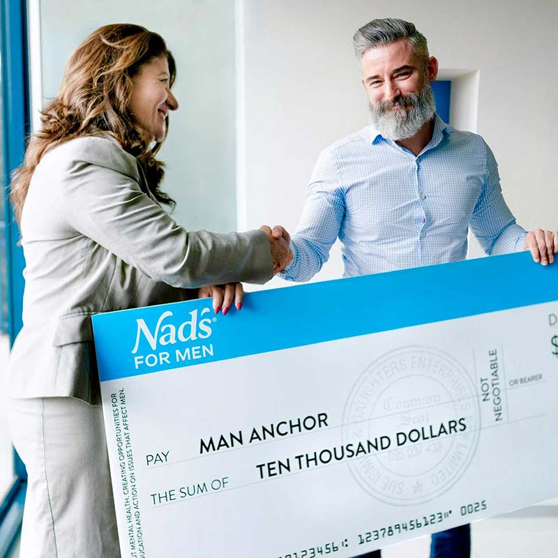 Nad's For Men and Man Anchor Join Forces for #NOSEvember | Manscaping FAQ Journal