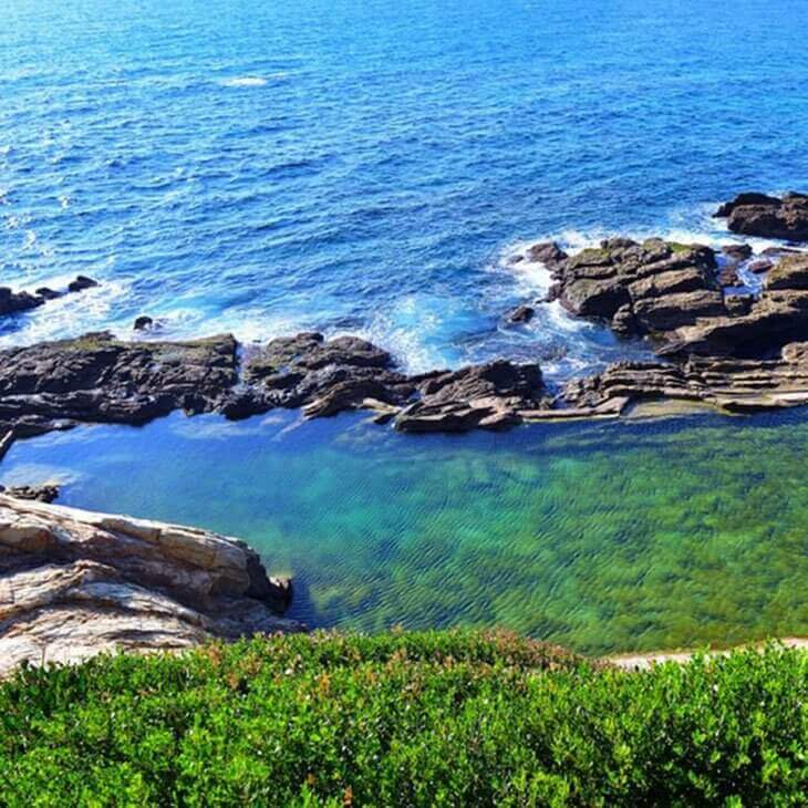Sapphire Coast Blue Pool, Bermagui | Aussie Ocean Pools Bucket List | Nads for Men Hair Removal