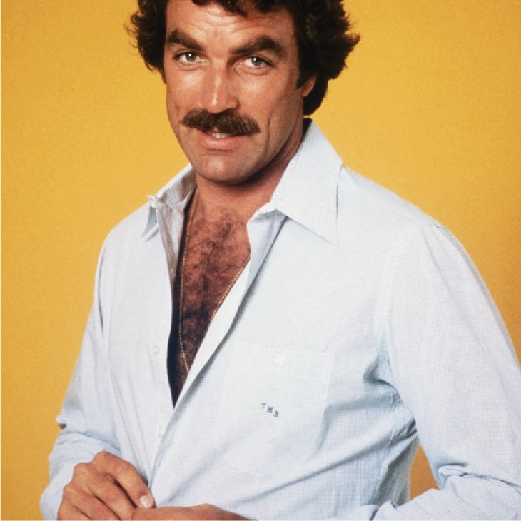 Tom Selleck | Hairy Male Celebrities | Nads for Men Hair Removal