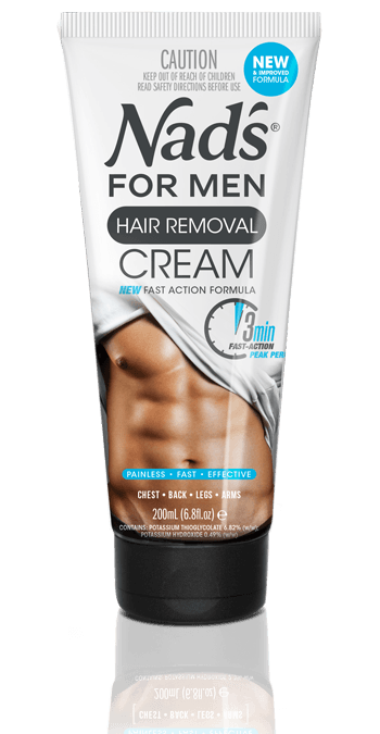 Nad's Hair Removal Handsfree Cream for Men Depilatory Cream | Nad's for Men