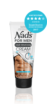 Nad's for Men Hair Removal Cream | Best Depilatory Cream